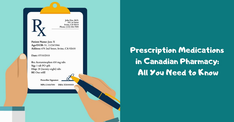 Prescription Medications in Canadian Pharmacy_ All You Need to Know